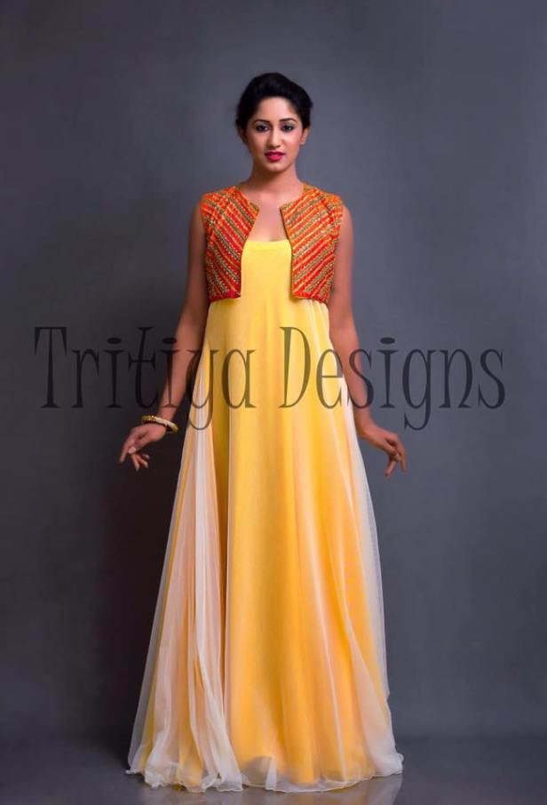 Dress vivid with Tritiya Designs