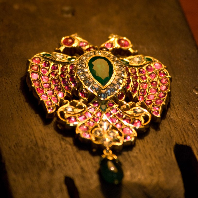 The Gandaberunda pendant