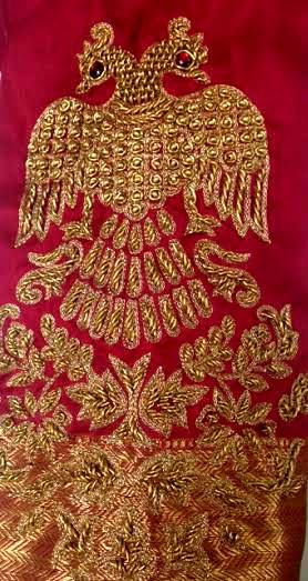 Gandaberunda on a Blouse