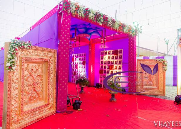 Wedding entrance decoration ideas brides essentials wedding entrance decoration ideasrst impressions are so important especially when it comes to junglespirit Choice Image