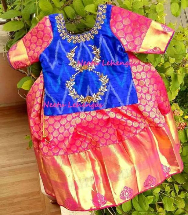 Capsule Collection of Kid's Wear. Wedding season, birthdays, diwali or any other festives, best time for your little princess to be a fashionista. We came across a traditional, quintessential Indian designer lehengas which are different and more beautiful.