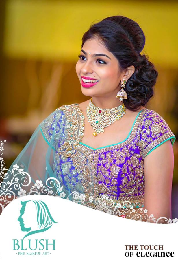 South Indian Bridal Hairstyles.