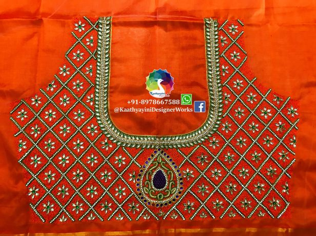 Designer Blouse trends with Kaathyayini.