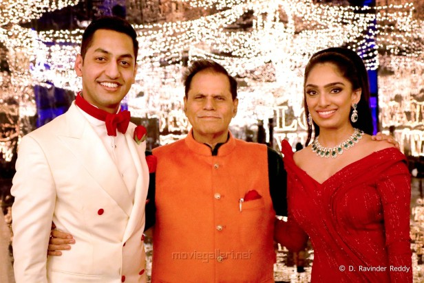 T. Subbarami Reddy Grandson Keshav Wedding Sangeet Photos