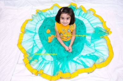 Designer Kids Wear with Neetu Lehengas.