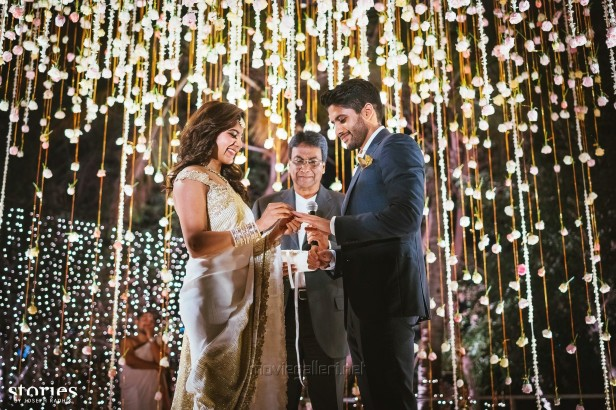 Naga Chaitanya Samantha Ruth Prabhu Engagement Photos
