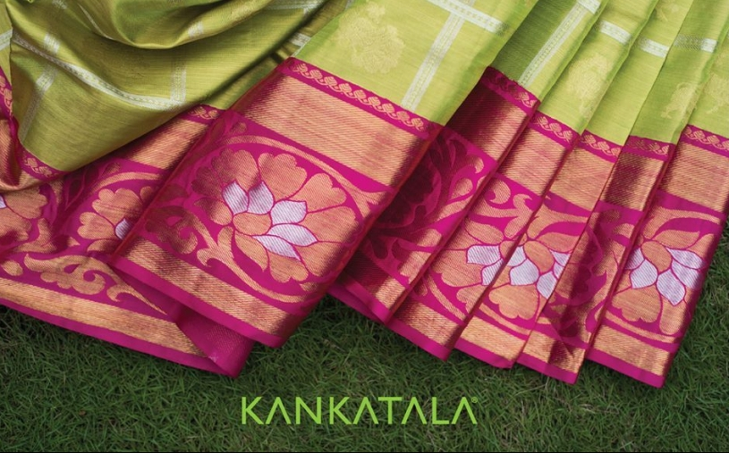 A heritage saree from the vaults of Kankatala