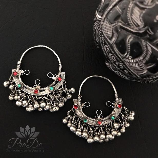 Afgan earrings from PraDe