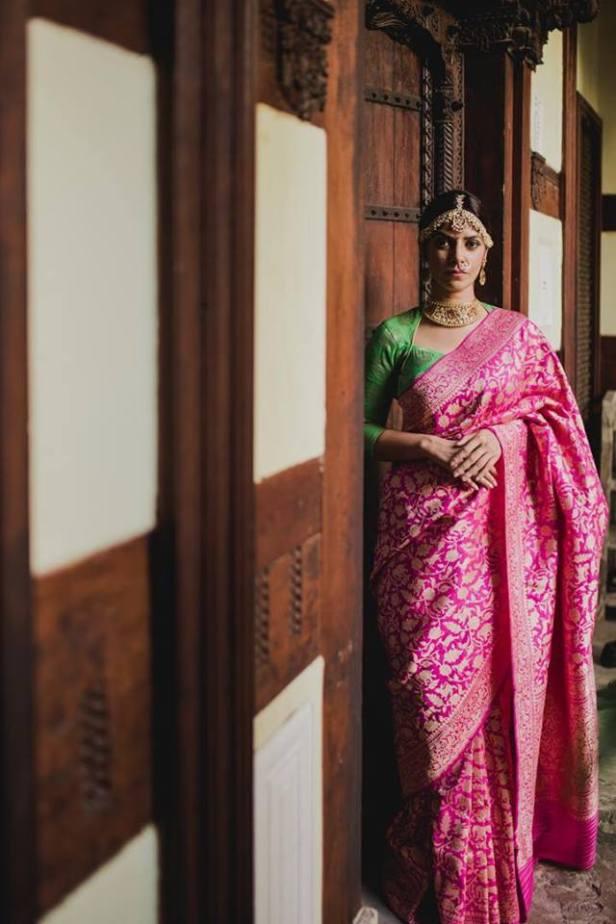 A beautiful master weave Benaras from the house of Tilfi