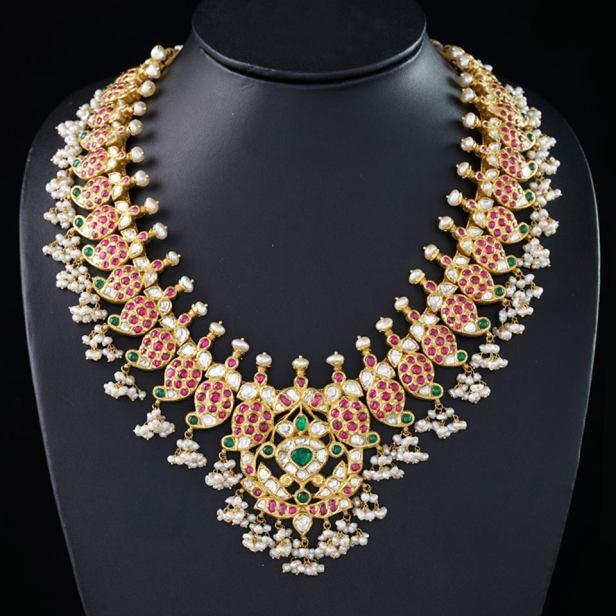 Heritage Necklace from Kalasha jewels