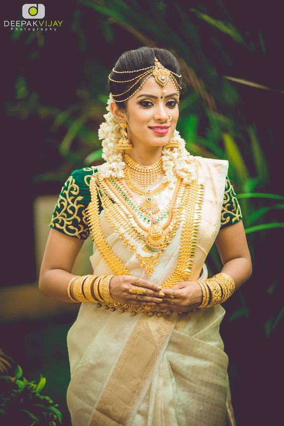 A Kerala Bride in all her Glory