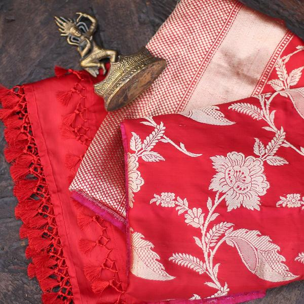 The Ektara Jangla Dupatta from Weaverstory