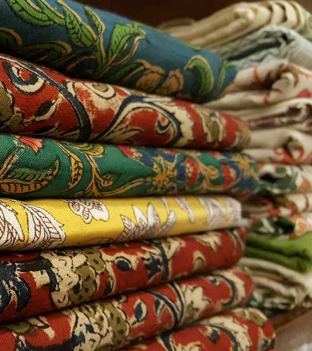 Kalamkari Blouse fabrics