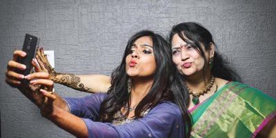 Vithika with Varun Sandesh's mom