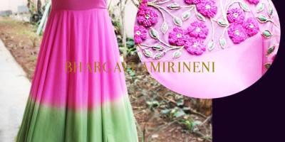 Floral Maxi Dress from Bhargavi Amirineni